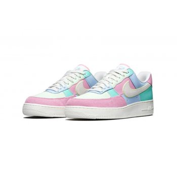 Schuhe Sneaker Low Nike Air Force 1 Low Easter Egg Ice Blue/Sail-Hyper Turq-Barely Volt