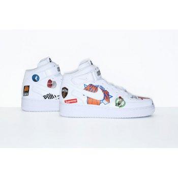 Schuhe Sneaker Low Nike Air Force 1 High x Supreme