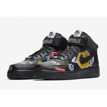 Schuhe Sneaker High Nike Air Force 1 High x Supreme