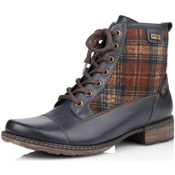 Schuhe Damen Stiefel Remonte Dorndorf Stiefeletten D4354-14 blau