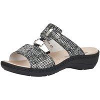 Schuhe Damen Pantoffel Remonte Dorndorf Pantoletten D7644-02 schwarz