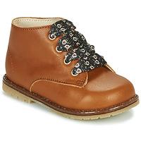 Schuhe Mädchen Sneaker High Little Mary JUDITE Braun