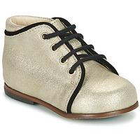Schuhe Mädchen Sneaker High Little Mary MEGGIE Silbern