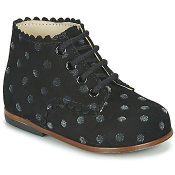 Schuhe Mädchen Sneaker High Little Mary VIVALDI Schwarz