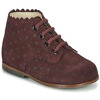 Schuhe Mädchen Sneaker High Little Mary VIVALDI Bordeaux