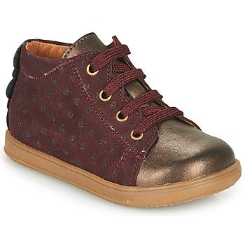 Schuhe Mädchen Sneaker Low Little Mary CLELIE Bordeaux