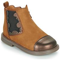 Schuhe Mädchen Boots Little Mary ELVIRE Braun