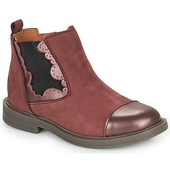 Schuhe Mädchen Boots Little Mary ELVIRE Bordeaux