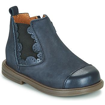 Schuhe Mädchen Boots Little Mary ELVIRE Blau