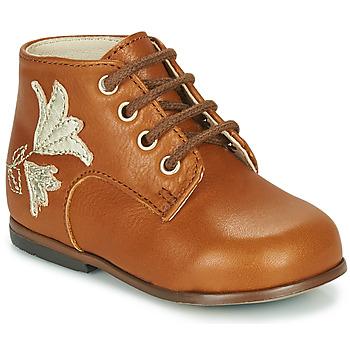 Schuhe Mädchen Sneaker High Little Mary MEIGE Braun