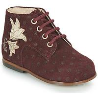 Schuhe Mädchen Sneaker High Little Mary MEIGE Bordeaux