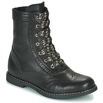 Schuhe Mädchen Boots Little Mary LYSIANE Schwarz