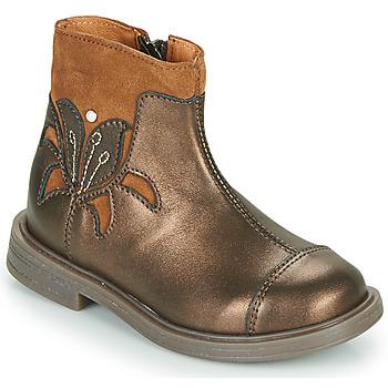 Schuhe Mädchen Boots Little Mary ELIANE Gold