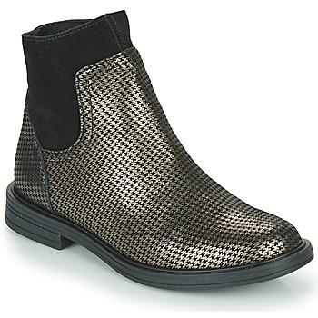 Schuhe Mädchen Boots Little Mary ELIETTE Schwarz