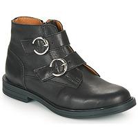 Schuhe Mädchen Boots Little Mary EMILIENNE Schwarz