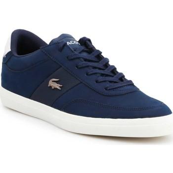 Schuhe Damen Sneaker Low Producent Niezdefiniowany Lifestyle Schuhe Lacoste Court-Master 7-37CMA0013J18 dunkelblau