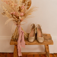Schuhe Damen Pumps Céleste MIRABELLE Gold
