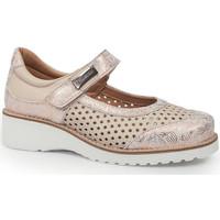 Schuhe Damen Ballerinas Calzamedi LETINAS  0690 BEIGE