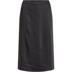 Kleidung Damen Röcke Vila VIMEKO HW MIDI SKIRT schwarz