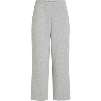 Kleidung Damen Jogginghosen Vila VISIF HW CROPPED PANT grau