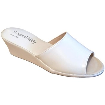 Schuhe Damen Pantoffel Milly MILLY103bia bianco