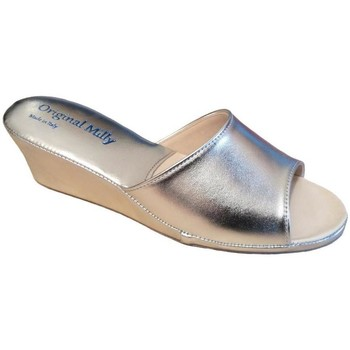 Schuhe Damen Pantoffel Milly MILLY103arg grigio
