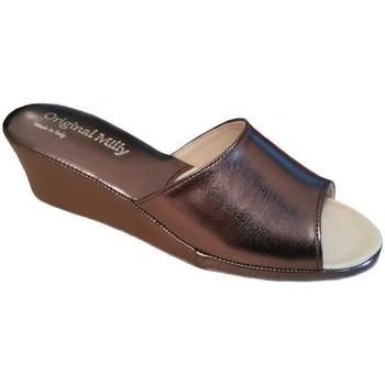 Schuhe Damen Pantoffel Milly MILLY103pio grigio