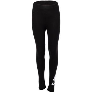 Kleidung Mädchen Leggings Lotto 214371 Schwarz