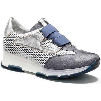 Schuhe Damen Sneaker Low Keys 5183 Grau