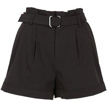 Kleidung Damen Shorts / Bermudas See U Soon 20241065 Schwarz