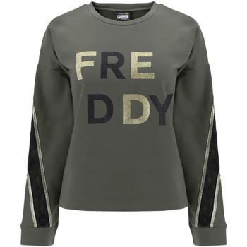 Kleidung Damen Sweatshirts Freddy F0WSDS5 Grün