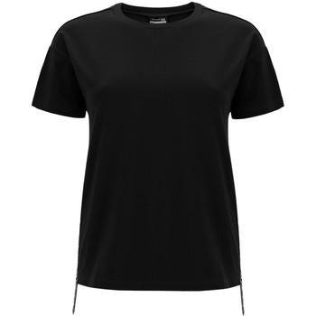 Kleidung Damen T-Shirts Freddy F0WSDT5 Schwarz