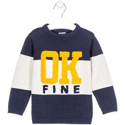 Kleidung Kinder Pullover Losan 025-5005AL Blau