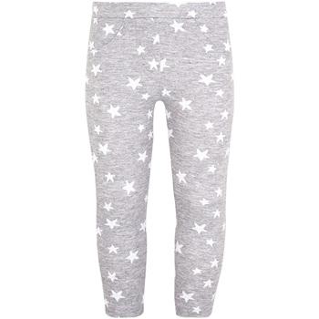 Kleidung Mädchen Leggings Losan 026-6016AL Grau