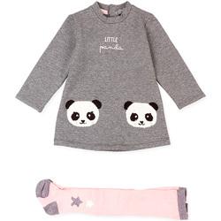 Kleidung Kinder Anzüge und Krawatte Losan 028-8025AL Grau
