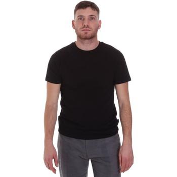 Kleidung Herren T-Shirts Sseinse MI1692SS Schwarz