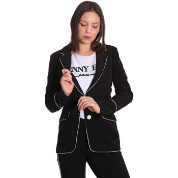Kleidung Damen Jacken / Blazers Denny Rose 811DD30004 Schwarz