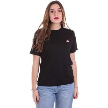 Kleidung Damen T-Shirts Dickies DK0A4TMYBLK1 Schwarz