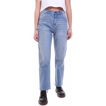 Kleidung Damen Boyfriend Jeans Dickies DK133004LBL1 Blau