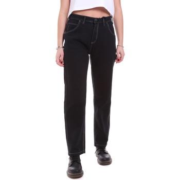 Kleidung Damen Jeans Dickies DK133004BLK1 Schwarz