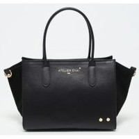 Taschen Damen Handtasche Atelier Enai LEXIE NOIR