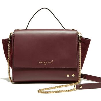 Taschen Damen Handtasche Atelier Enai JOYCE BORDEAUX