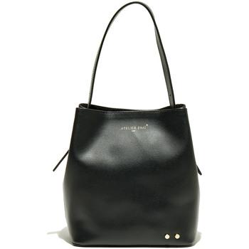 Taschen Damen Umhängetaschen Atelier Enai JAMIE NOIR