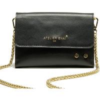 Taschen Damen Geldtasche / Handtasche Atelier Enai EMMIE NOIR
