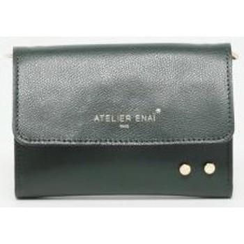 Taschen Damen Geldtasche / Handtasche Atelier Enai EMMIE VERT FONCE