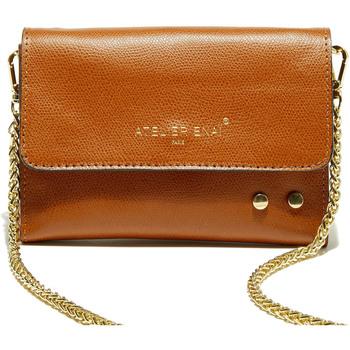 Taschen Damen Geldtasche / Handtasche Atelier Enai EMMIE CAMEL