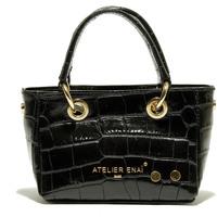 Taschen Damen Shopper / Einkaufstasche Atelier Enai ROSI NOIR