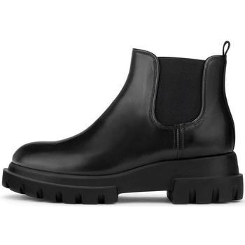Schuhe Damen Low Boots Attilio Giusti Leombruni Lowboot Alaska-Sohle Schwarz
