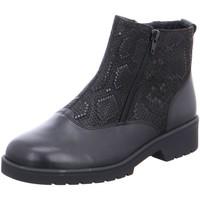 Schuhe Damen Boots Ganter Stiefeletten Ellen 2055300100 schwarz