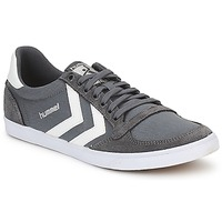 Schuhe Sneaker Low Hummel TEN STAR LOW CANVAS Grau / Weiss